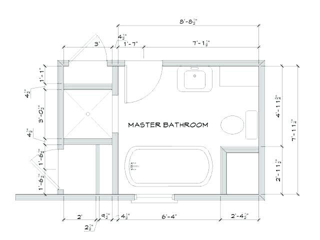 Monkmoor Bathroom plans