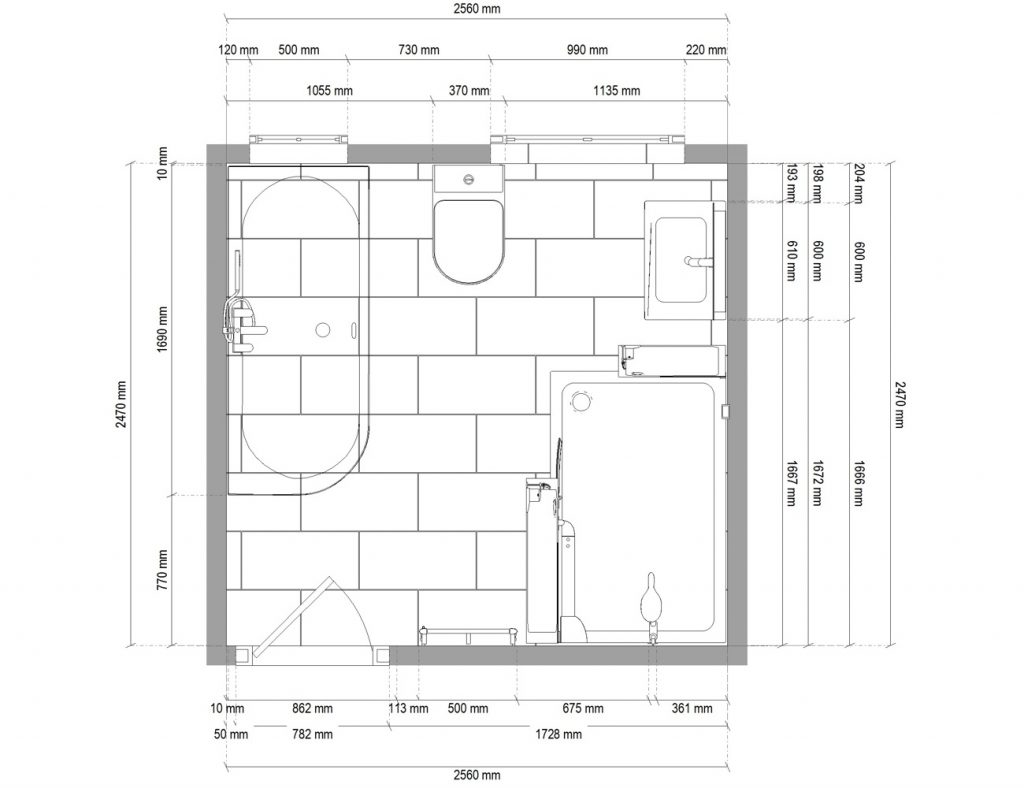 Monkmoor Bathroom Plan